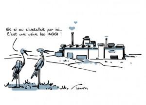 iso 14001, usine écologique