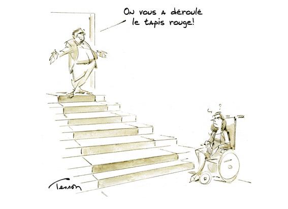 handicap humour