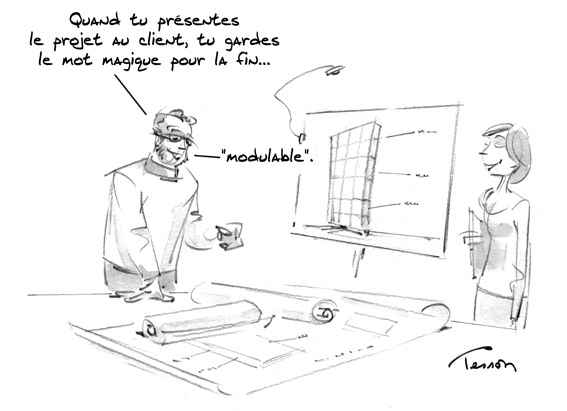 Architecture dessinateur de presse et illustrateur for Dessin architecture