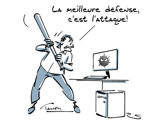 virus informatique humour