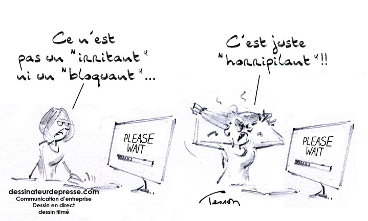 humour informatique  u2013 dessinateur de presse et illustrateur  dessin en direct