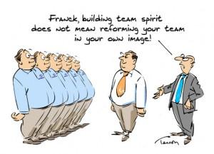 Team building humour