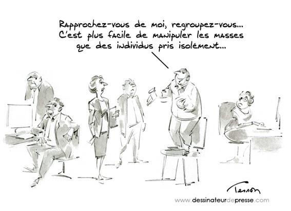 leadership humour dessin