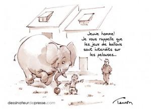 Enfant qui joue dessin illustration