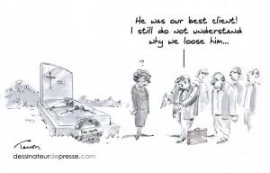 Client cartoon