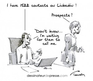 prospection cartoon