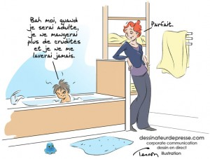 enfant humour illustration