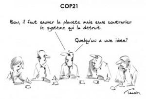 COP21 dessin de presse écologie