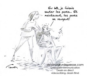 papy-boom humour