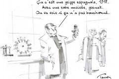 Epidémie dessin humour