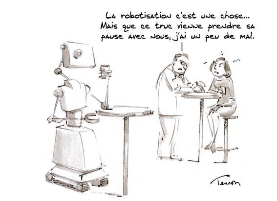 robot humour
