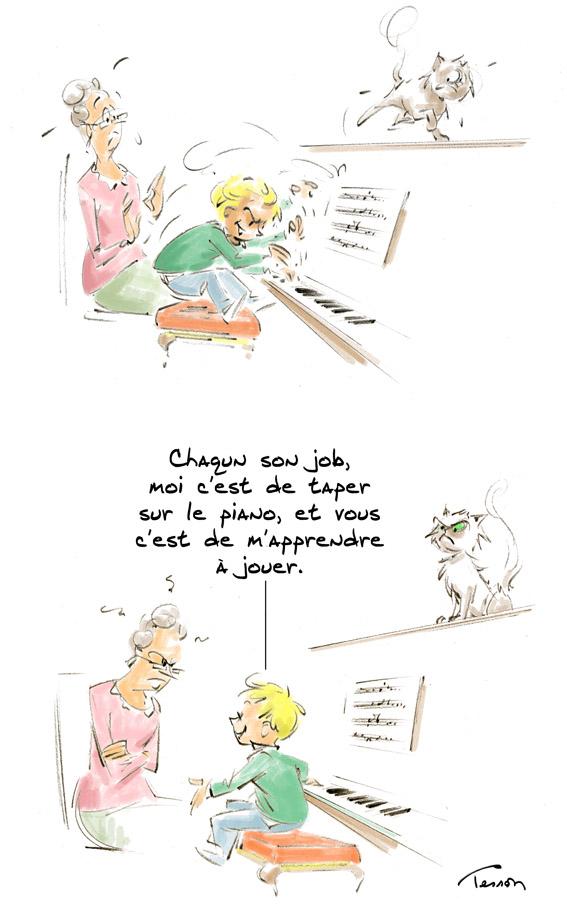 piano humour