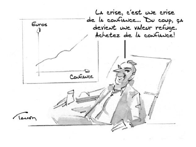 Crise économique humour