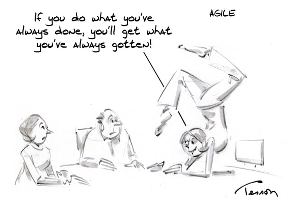 innovation cartoon