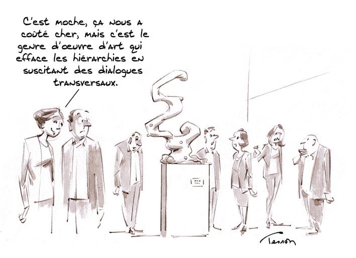 transversalité humour