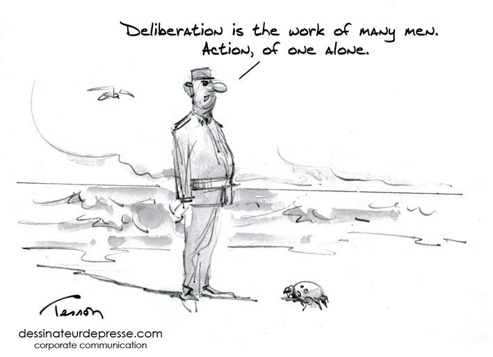 leadership cartoon