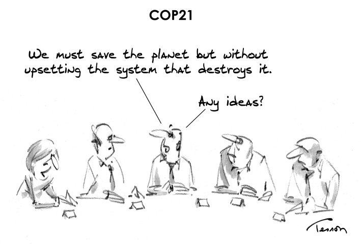 COP21 cartoon