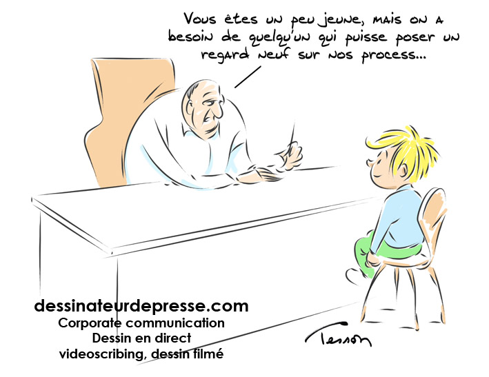 Innovation dessin humour