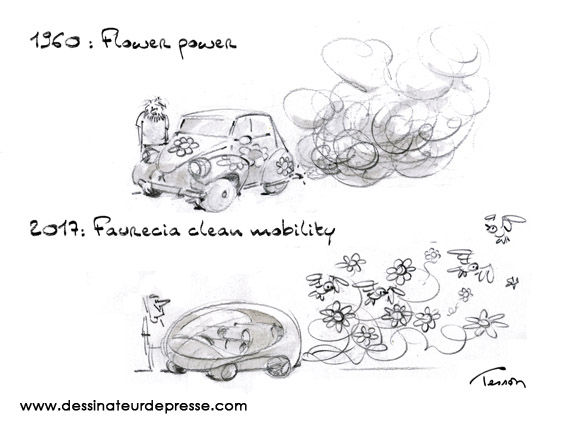écologie dessin humouristique