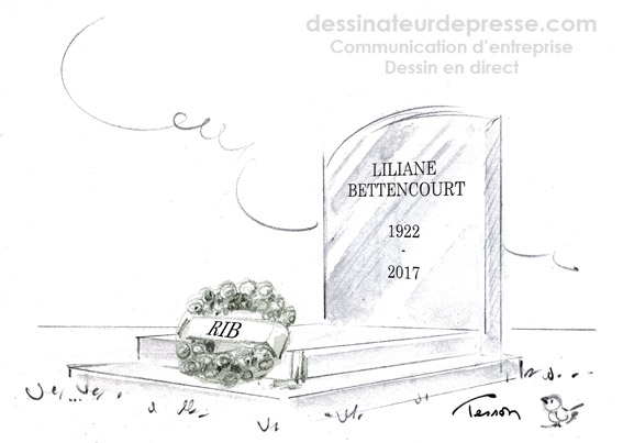 Mort de Liliane Bettencourt