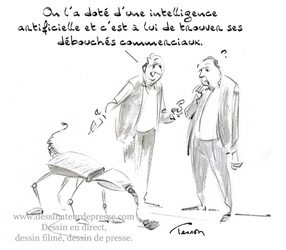 Intelligence artificielle ou imbécillité artificielle
