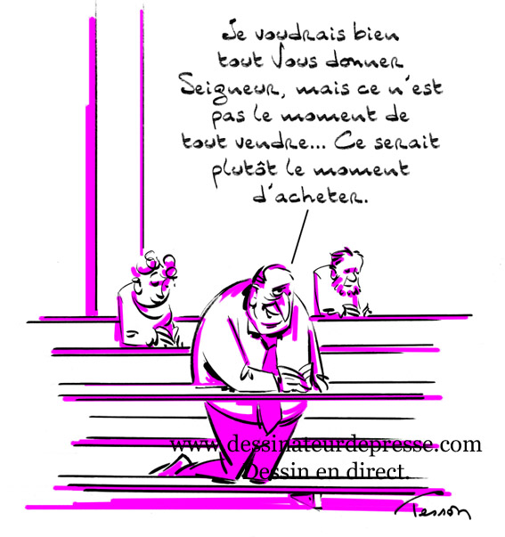 L'avarice, Alexandre Vialatte