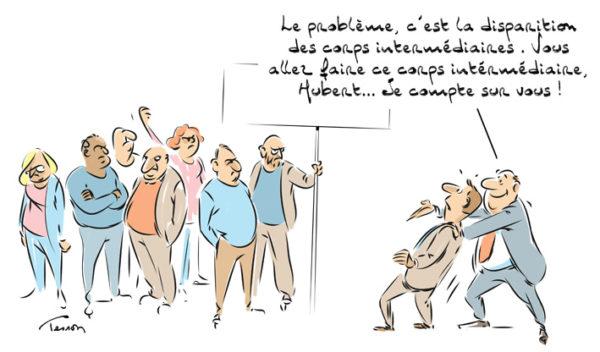 Dialogue social humour