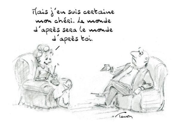 Avenir dessin humoristique
