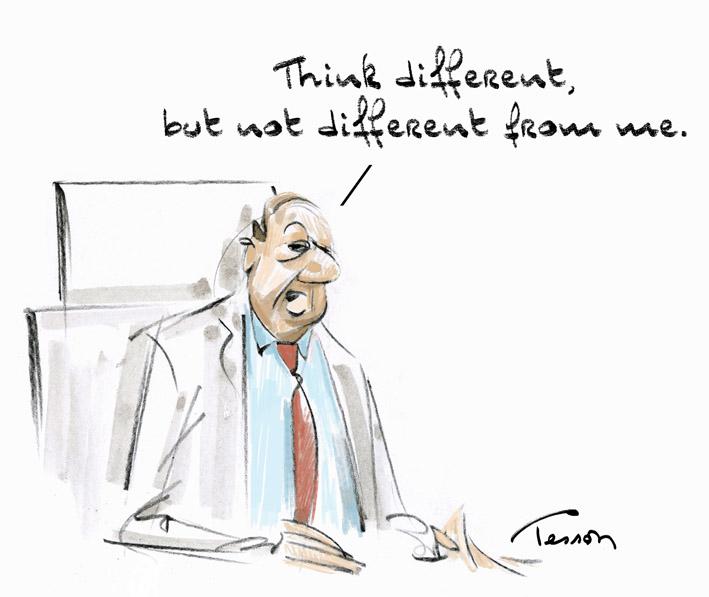 leadership dessin humour