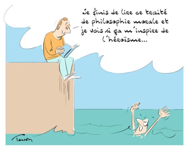 Morale, éthique, dessin de presse, humour