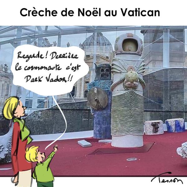 Crèche de noël au Vatican