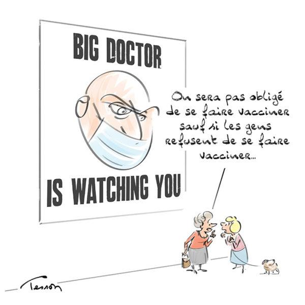 Vaccin covid19 dessin de presse