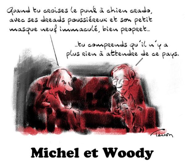 Michel et Woody