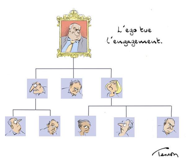 Management dessin humoristique